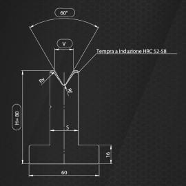 PS-2060-H80-60°